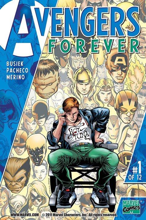 Avengers Forever #1 – 12