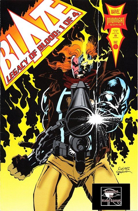 Blaze Legacy of Blood #1 – 4