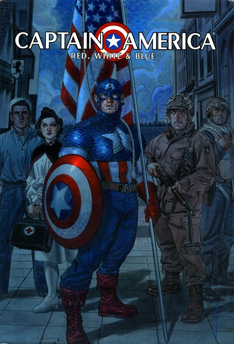 Captain America – Red, White & Blue