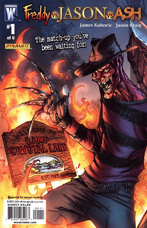 Freddy Vs Jason Vs Ash #1 – 6 (2008)