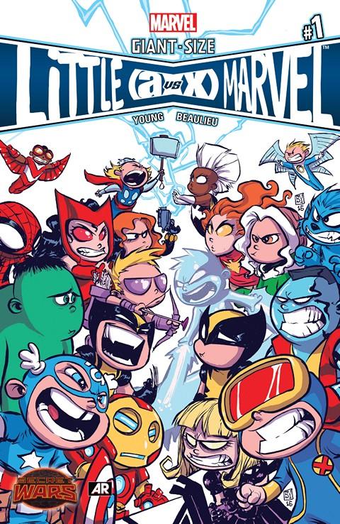 Giant-Size Little Marvel – AvX #1