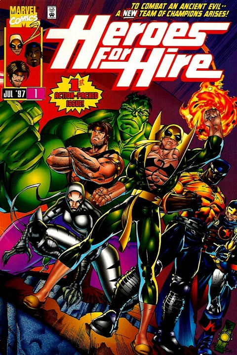 Heroes for Hire Vol. 1-2