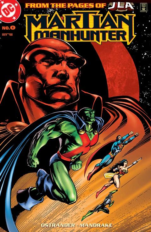 Martian Manhunter #0 – 36