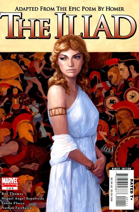 Marvel Illustrated – The Iliad #1 – 8