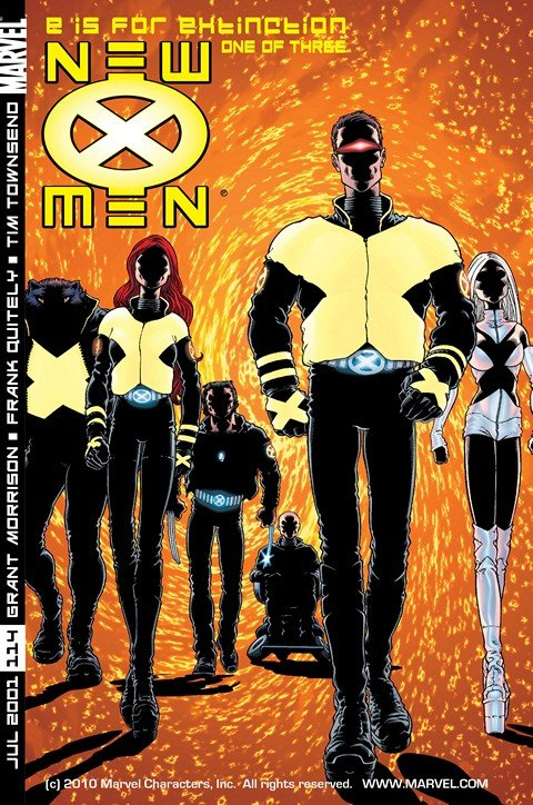 New X-Men #114 – 156 + Annual (2001-2004)