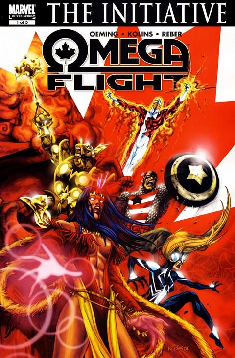 Omega Flight #1 – 5