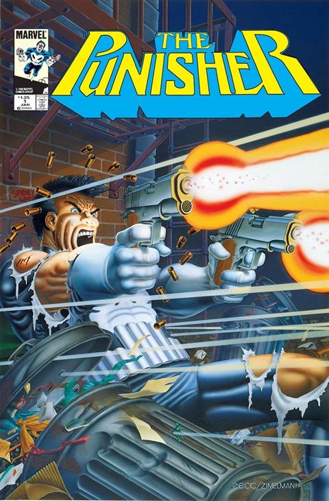 Punisher Vol. 1 Mini-Series #1 – 5 (1986)