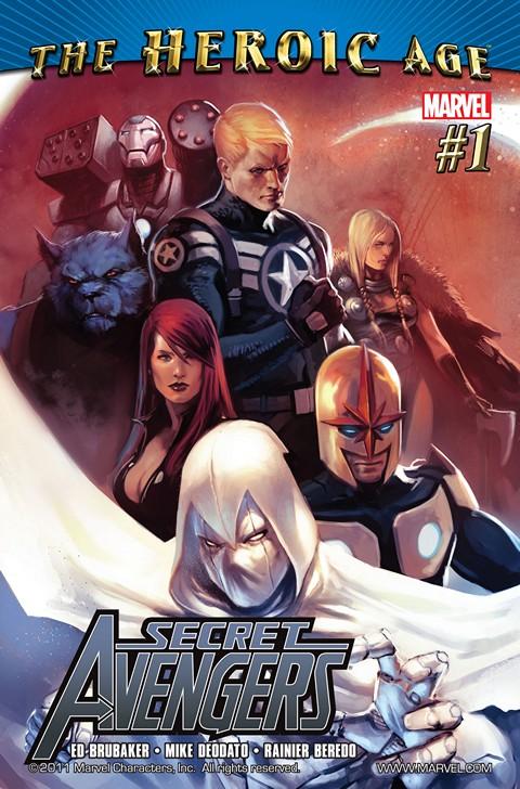 Secret Avengers Vol.1 #1 – 37