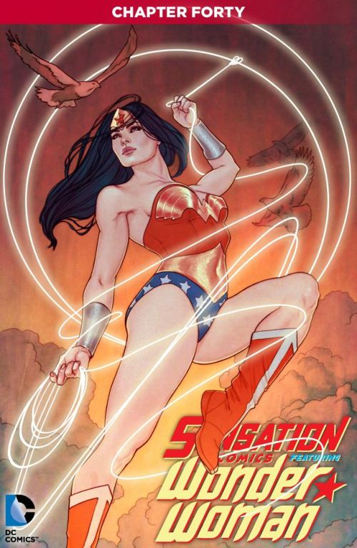Sensation Comics Featuring Wonder Woman #40