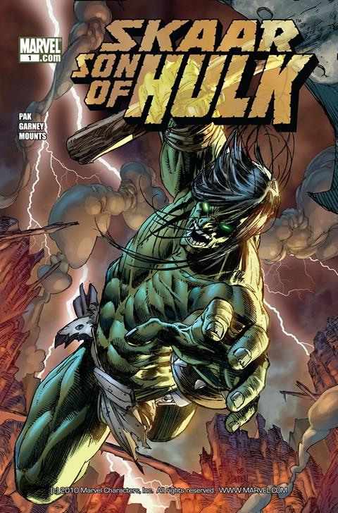 Skaar – Son of Hulk #1 – 17 (2008-2010)