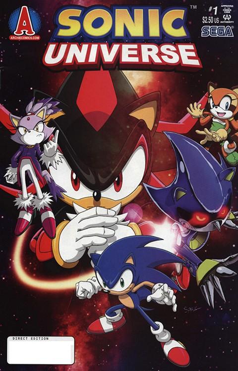 Sonic Universe #1 – 76 (2010-2015)