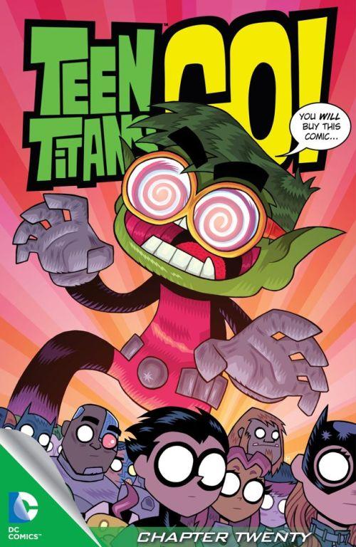 Teen Titans Go! #20