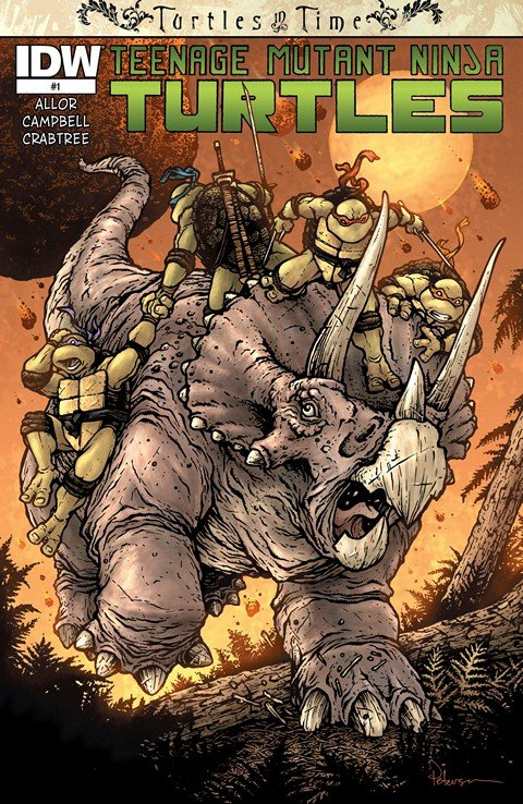 Teenage Mutant Ninja Turtles – Turtles in Time #1 – 4