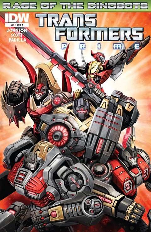 Transformers Prime – Rage of the Dinobots #1 – 4
