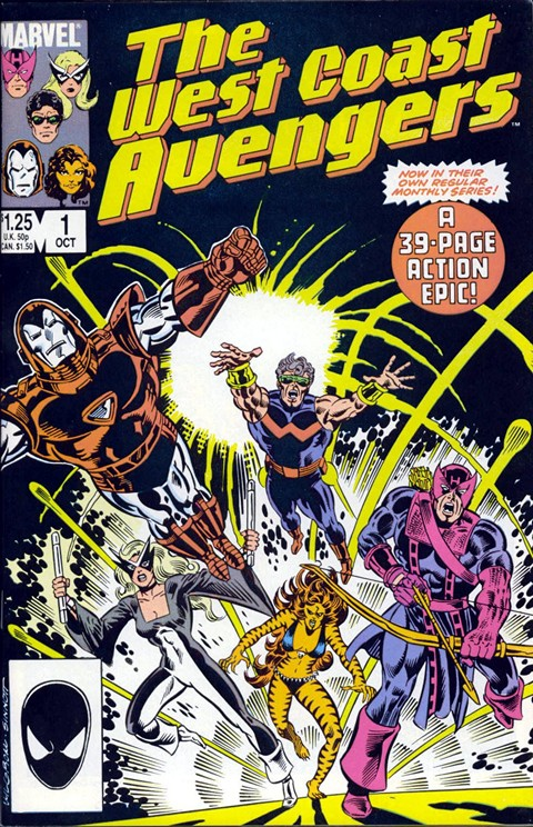 West Coast Avengers #1 – 102 + Mini Series