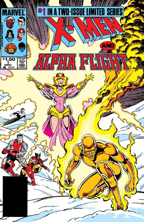 X-Men-Alpha Flight #1 – 2