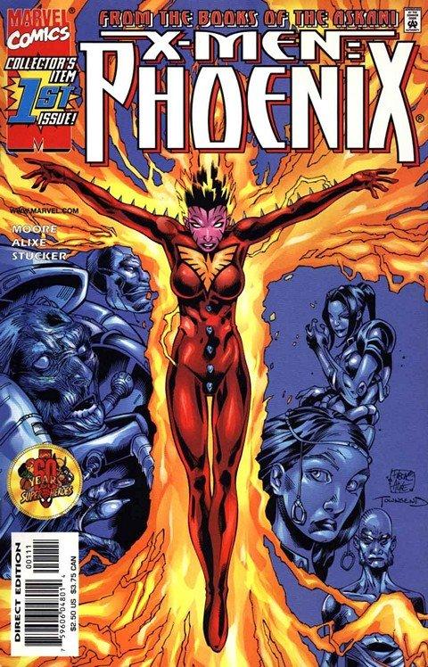 X-Men – Phoenix (Askani Rising) #1 – 3