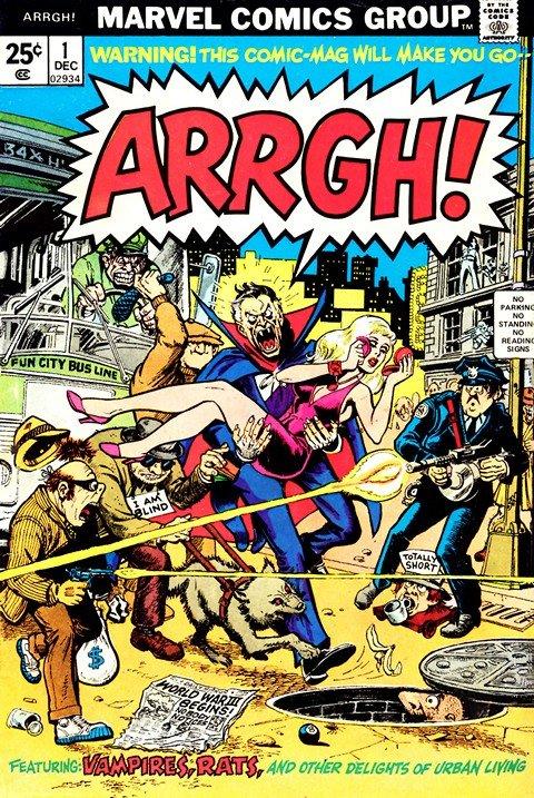 Arrgh! Vol. 1 #1 – 5