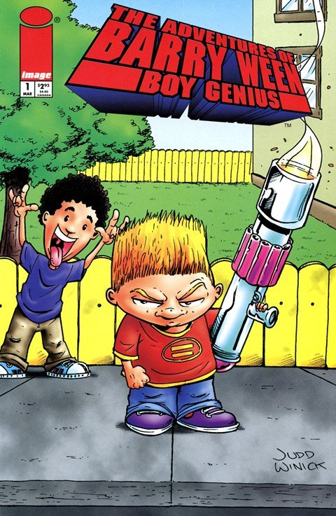 The Adventures of Barry Ween, Boy Genius (Collection)