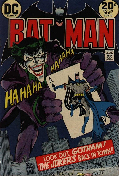 Batman #251 – The Jokers Five-Way Revenge!