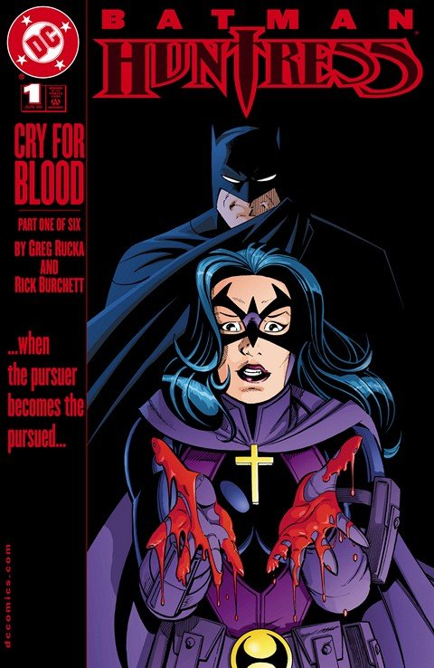 Batman – Huntress – Cry For Blood #1 – 6