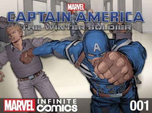 Captain America – The Winter Soldier Infinite Comic #1