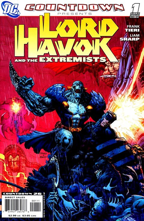 Countdown Presents – Lord Havok and the Extremists #1 – 6