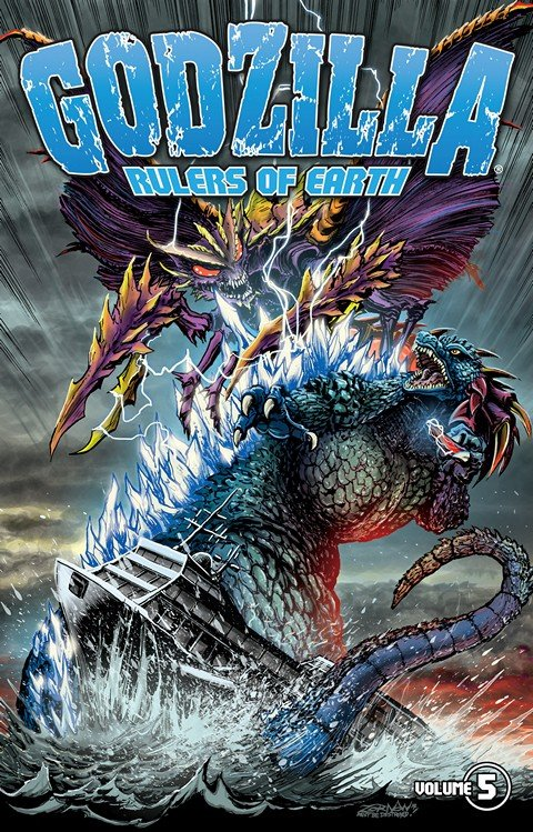 Godzilla Rulers Of Earth Vol. 5 (TPB)