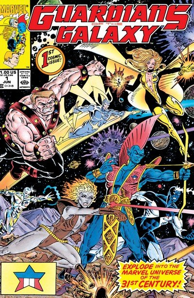 Guardians of the Galaxy Vol. 1 #1 – 62 + Annuals (1990-1995)