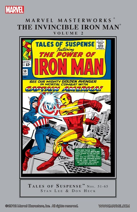 Iron Man Masterworks Vol. 2