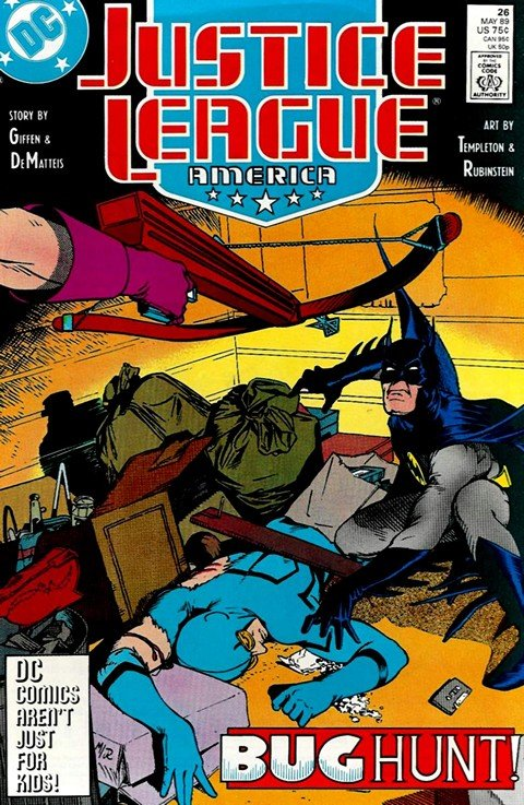 Justice League America #26 – 113 + Zero + Annuals