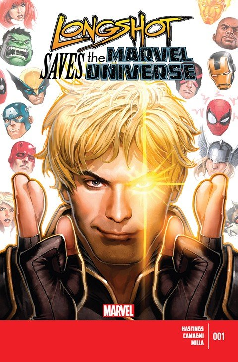 Longshot Saves The Marvel Universe #1 – 4