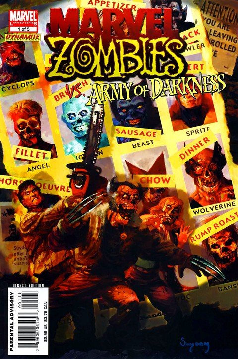 Marvel Zombies vs Army of Darkness #1 – 5 (2007)