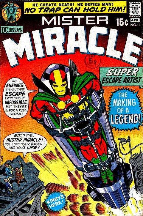 Mister Miracle Vol. 1 – 3 + Special