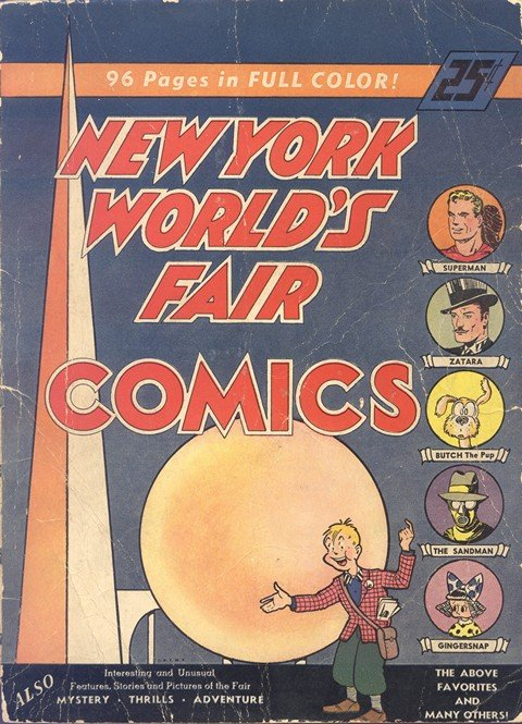 New York World's Fair Comics (1939 – 1940)