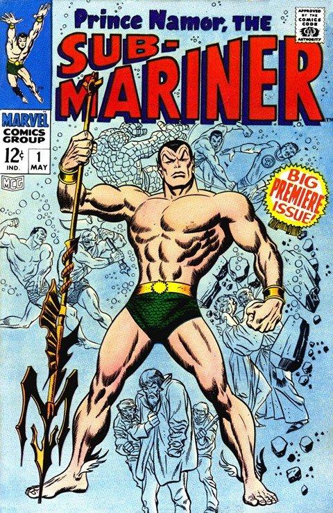 Prince Namor – Sub-Mariner Vol. 1 #1 – 72 + Specials (1968-1974)