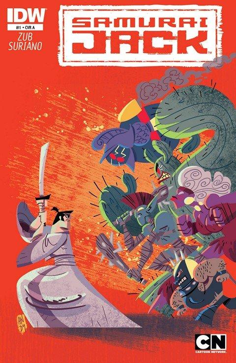 Samurai Jack #1 – 20 + Classics TPBs Vol. 1 – 2