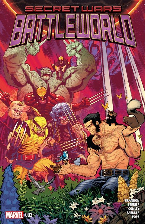 Secret Wars – Battleworld #3