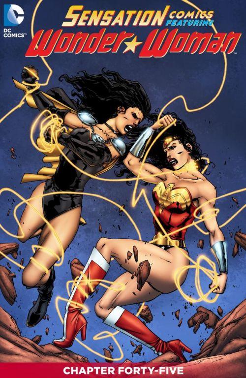 Sensation Comics Featuring Wonder Woman #45