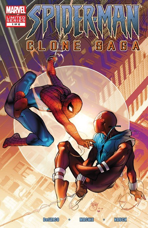 Spider-Man – The Clone Saga #1 – 6