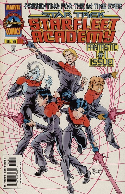 Star Trek – Starfleet Academy #1 – 19 (1996-1998)