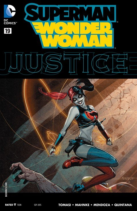 Superman-Wonder Woman #19