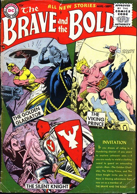 The Brave and the Bold Vol. 1 #1 – 200 (1955-1983)