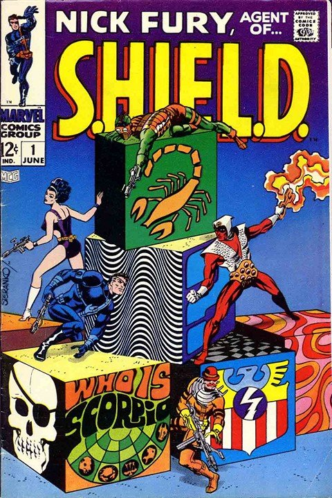 The Nick Fury + SHIELD (Collection)