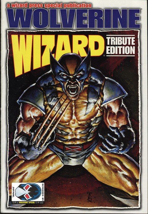 Wizard Wolverine Tribute Edition
