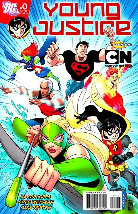 Young Justice #0 – 25
