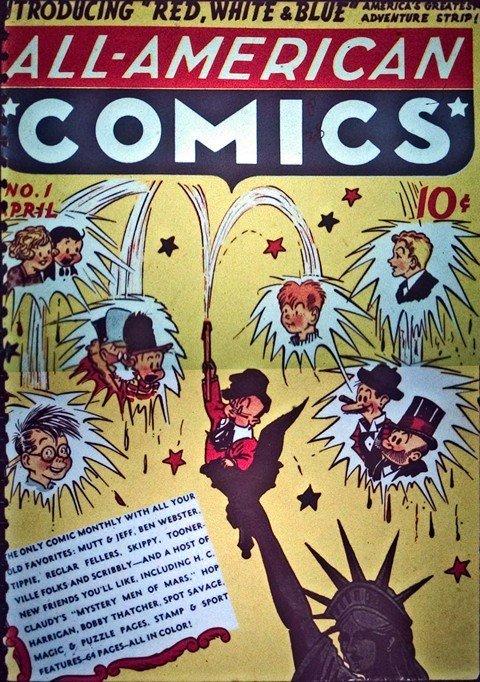 All-American Comics #1 – 102 (1939-1948)
