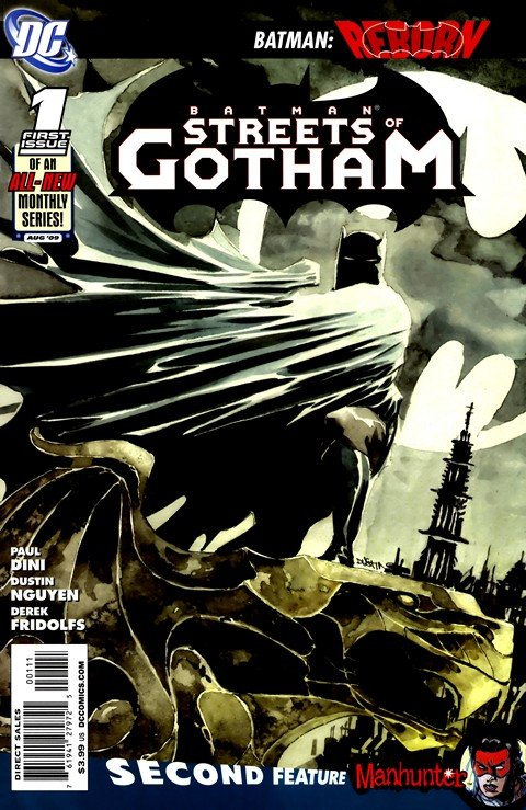 Batman – Streets of Gotham #1 – 21 (2009-2011)