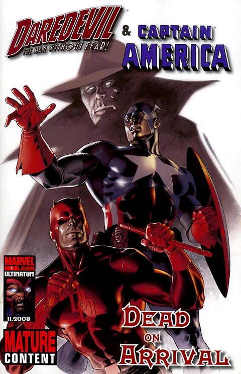 Daredevil & Captain America – Dead On Arrival #1