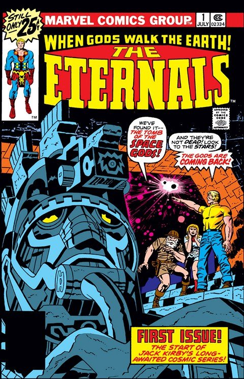 Eternals Vol. 1 – 4 + Extras